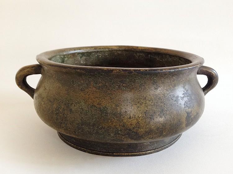 A Bronze Censer Da Ming Xuan De Nian Zhi 19th Century