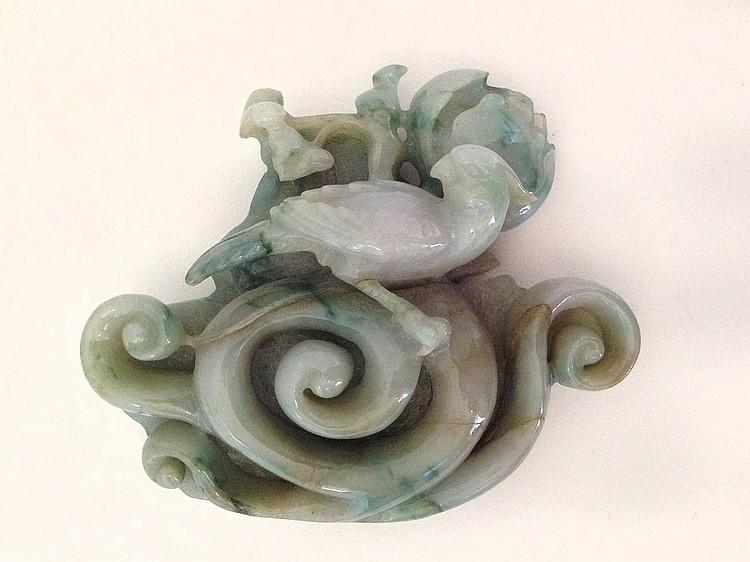 A Jadeite Pendant 19/20th Century