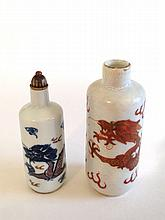 Two Snuff Bottles Qing Dynasty
