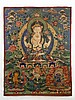 A Tibetan Tang Ka 19/20th Century