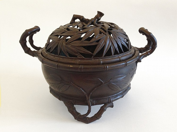 A Large Bronze Censer Qing Dynasty