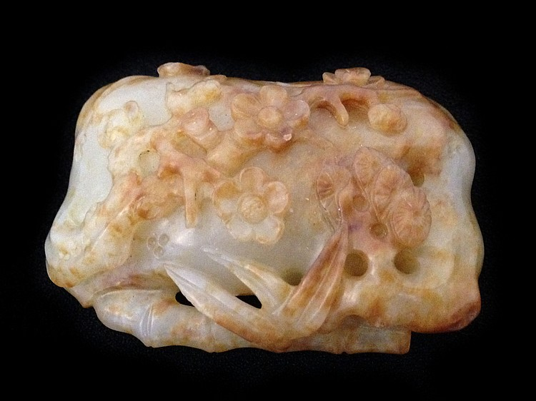 A White Jade Pendant Carving 18/19th Century