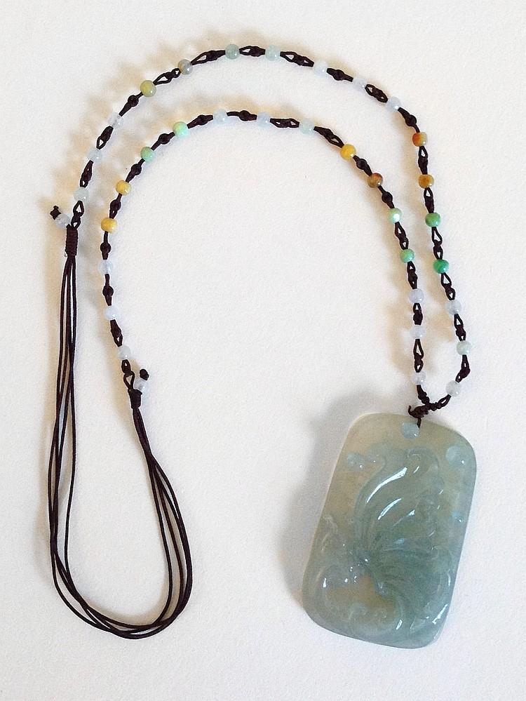 A Jadeite Pendant 20th Century