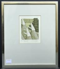 SIMON PALMER SIGNED LIMITED EDITION PRINT THE COWLS