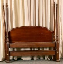 Vintage Poster Double Bed