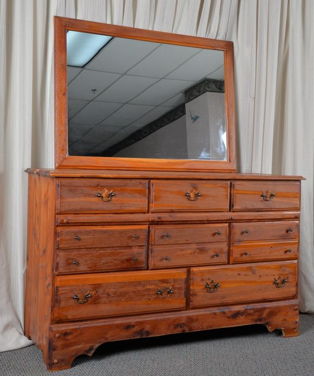 Vintage solid cedar bedroom suite - Cedar bedroom furniture ...