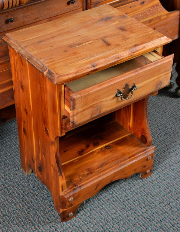 Vintage Solid Cedar Bedroom Suite