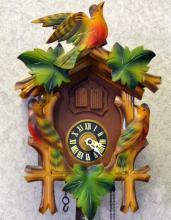 wooden cuckoo clock wbirds