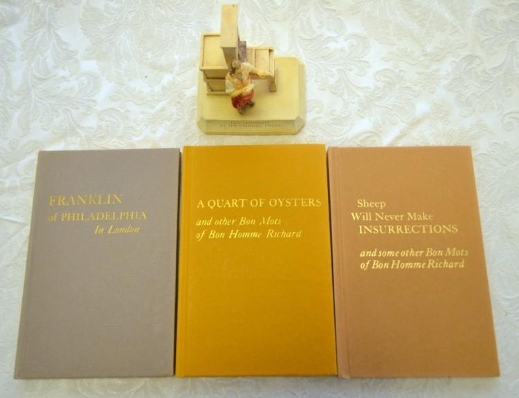 Benjamin Franklin 3 Typophile Monographs