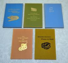 Benjamin Franklin 5 Keepsake Books