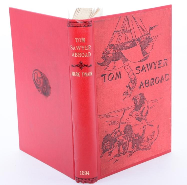 Mark Twain Tom Sawyer Abroad