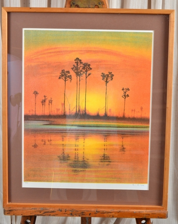 Tall Pines Ltd. Ed. Lithograph