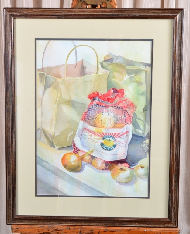 Brodie Vidalia Onions Watercolor