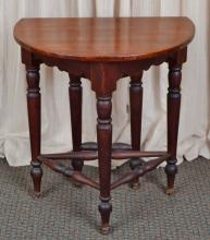 Vintage Round Drop Leaf Table