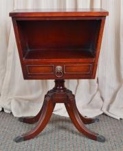 Mahogany Federal Style Side Table