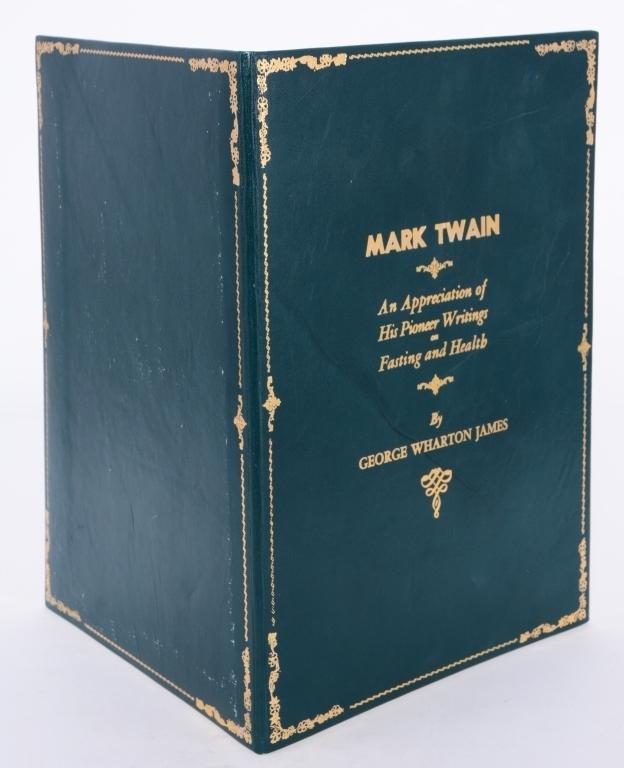 James' Appreciation of Mark Twain's Writings