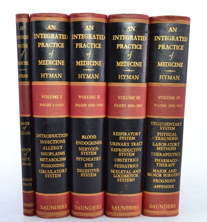 4 Vol. Integrated Practice of Medicine