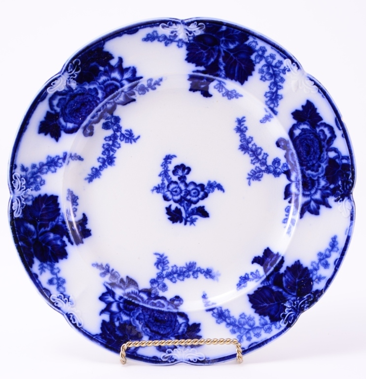Flow Blue Messina Plate