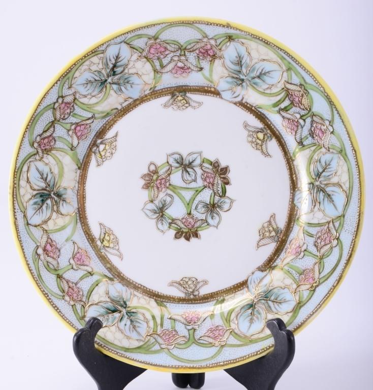 Handpainted Noritake Nippon Plate