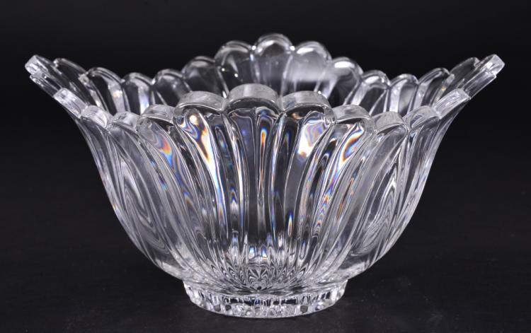 Square Deep Crystal Bowl