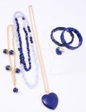 Lapis Costume Jewelry