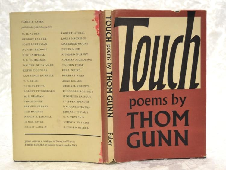 Touch by Thom Gunn (Poetry)