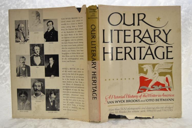 Our Literary Heritage by Brooks & Bettmann