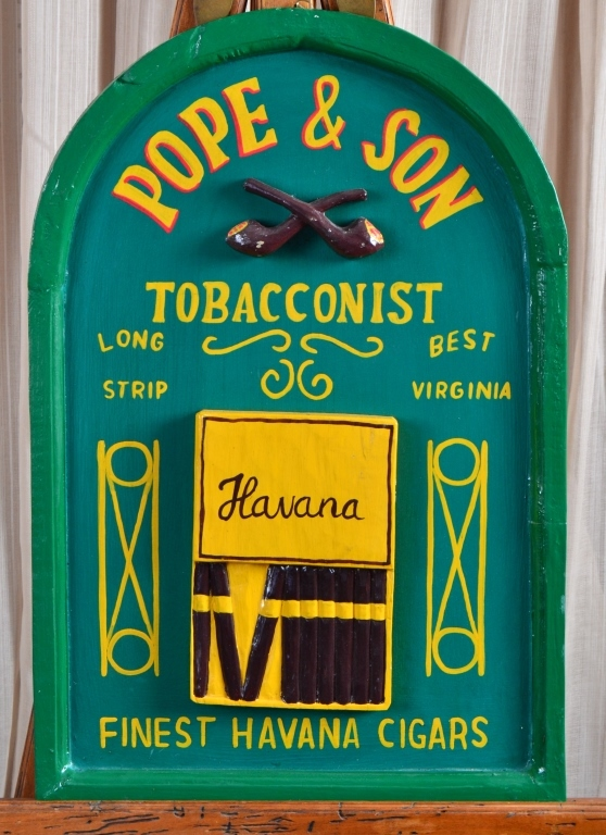 Tobacconist Cigar Sign