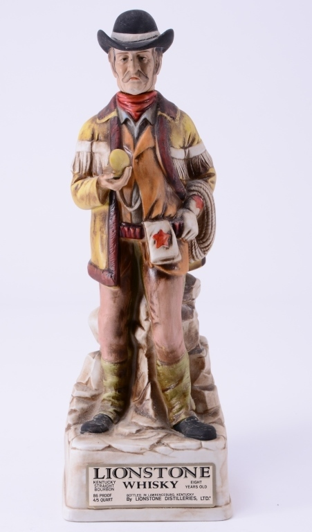 Stagecoach Driver Lionstone Whiskey Decanter