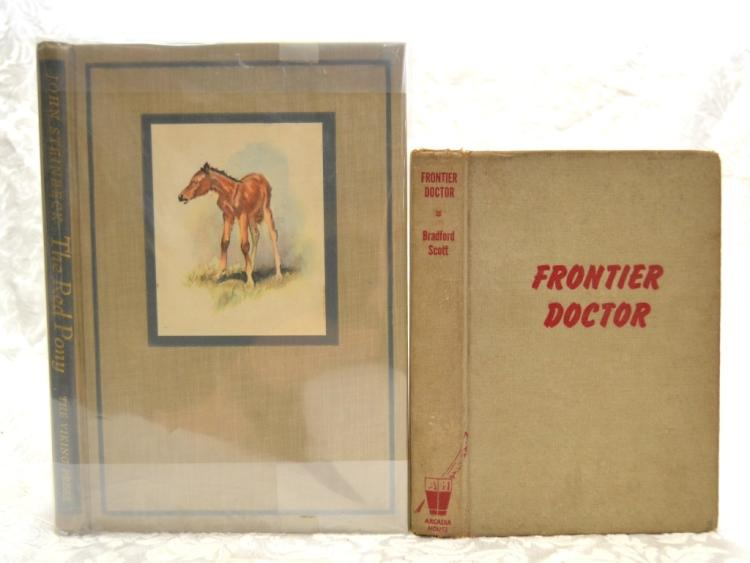 Steinbeck's Red Pony & Scott's Frontier Doctor