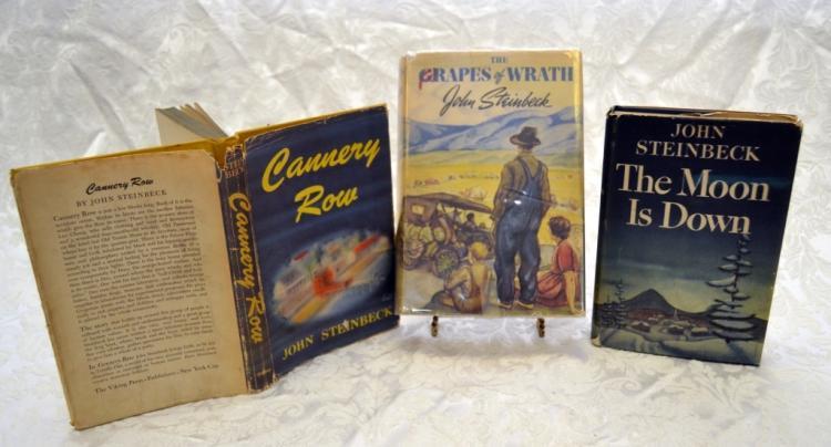 3 John Steinbeck Novels