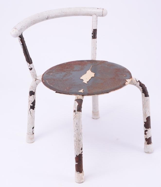 Vintage Child's Metal Chair