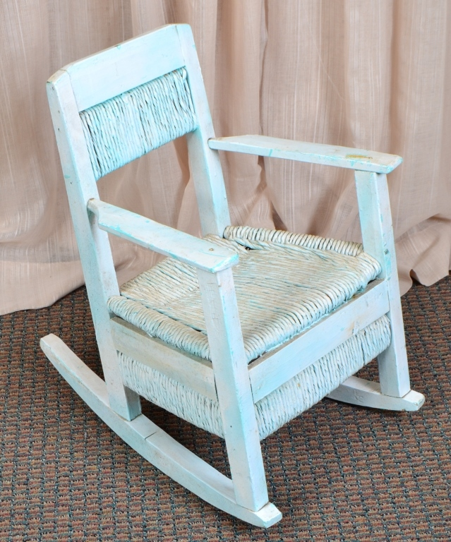 Vintage Child's Rush Rocker