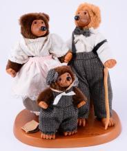 Robert Raikes Wooden Three Bears