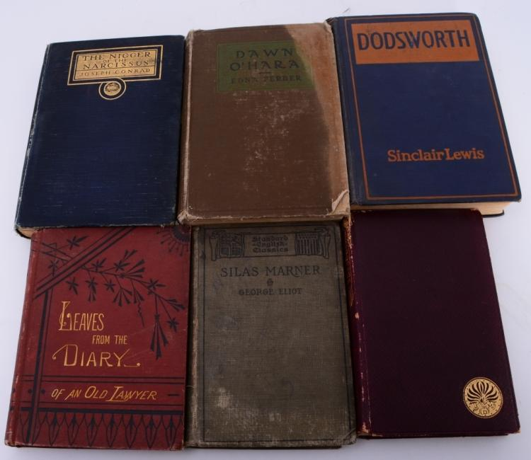 6 Vintage Novels and Books