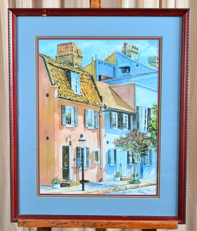 Gordon Wheeler Streetscape Print