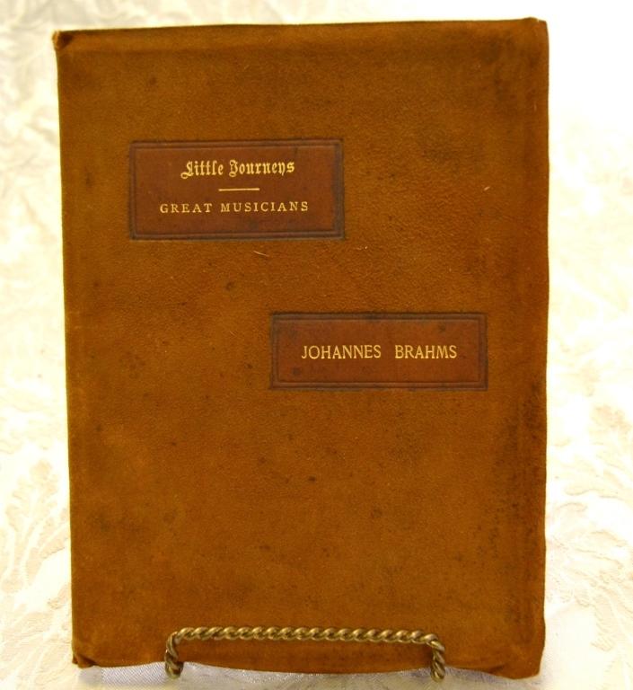 Hubbard's Little Journey-Home of Johannes Brahms