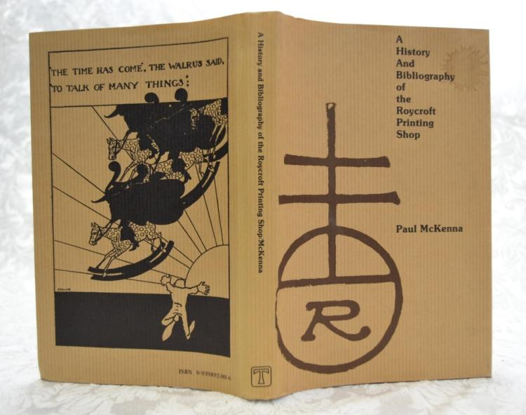 History & Bibliography of Roycroft Printing Shop