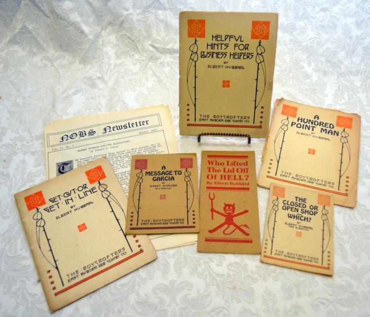 6 Works by Elbert Hubbard