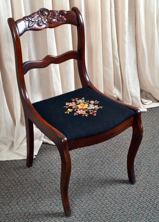 Vintage Victorian Style Side Chair
