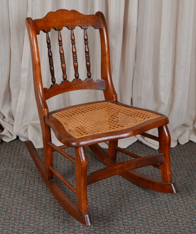 Antique Side Rocker