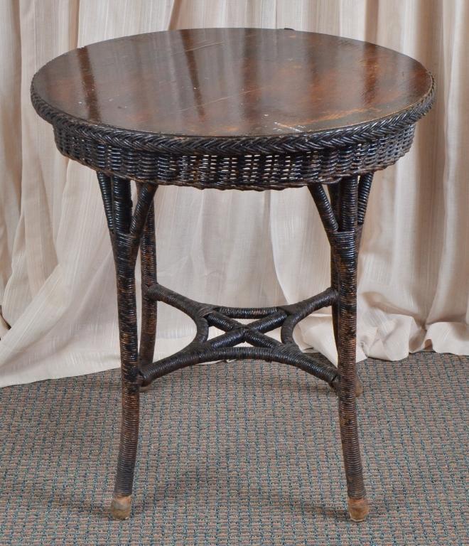 Vintage Wicker Table