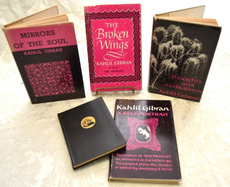 5 Kahlil Gibran Books