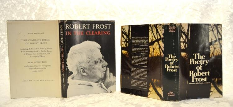 Two Robert Frost Poetry Books