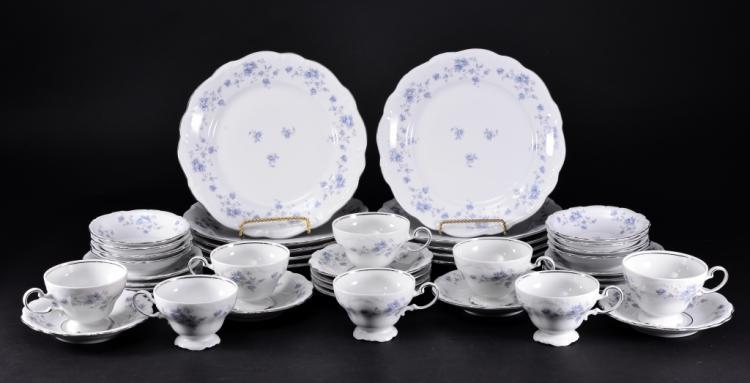 42 Pieces Johann Haviland China Dinnerware