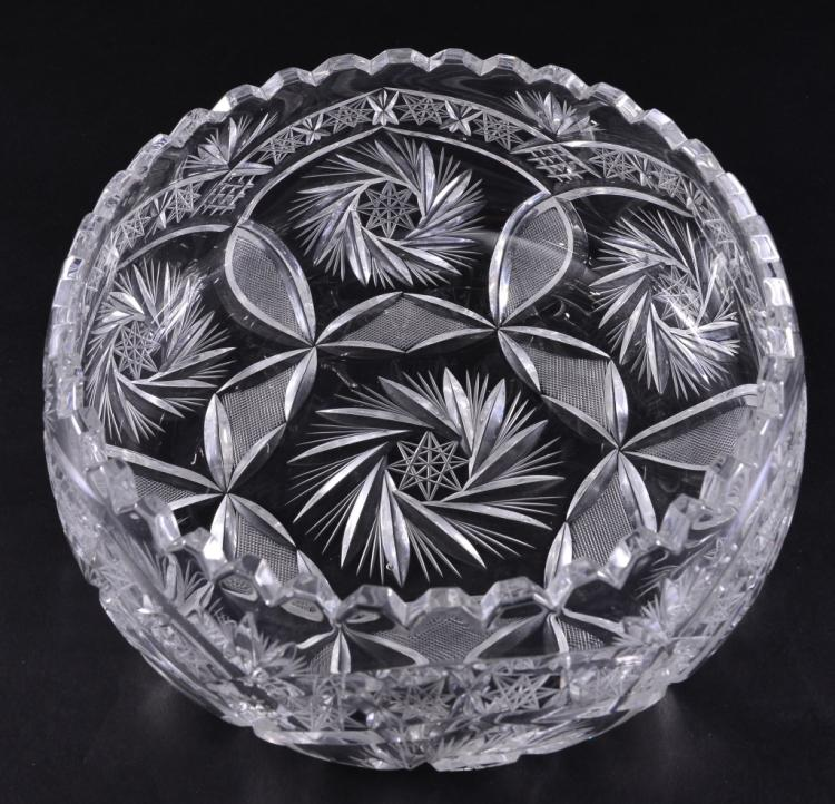 Low Cut Glass Bowl