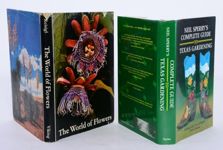Gardening and Flower Books