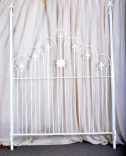 Gothic Style Metal Canopy Bed