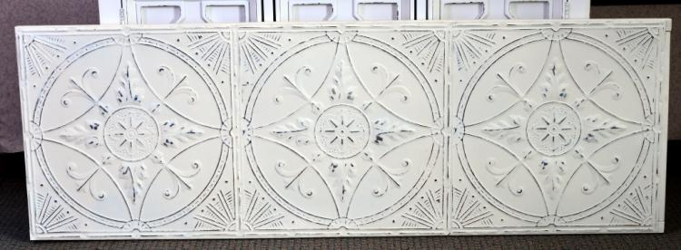 Pressed Metal Headboard