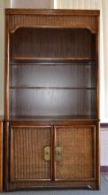 Lighted Bookcase Cabinet
